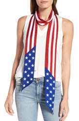 Collection Xiix Women's Americana Skinny Scarf