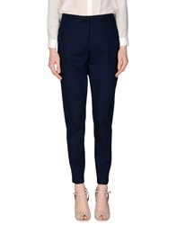 Ekle' Trousers Casual Trousers Women Dark Blue