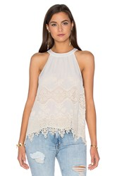 Maven West Halter Cami White