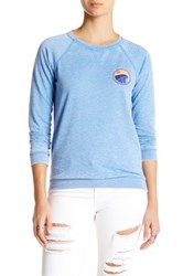 Roxy Ray Of New Wave Pullover Blue