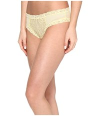 Natori Feathers Hipster Pale Banana Women's Underwear Yellow