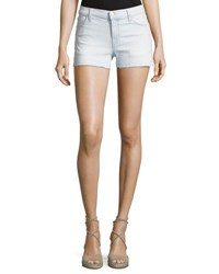 J Brand 1044 Mid Rise Denim Shorts Light Blue