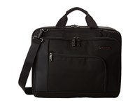Briggs And Riley Verb Connect Medium Brief Black Briefcase Bags