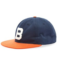 Ebbets Field Flannels Brooklyn Bushwicks 1949 Cotton Cap Blue
