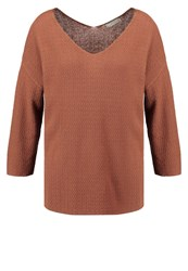 Betty And Co. Co Jumper Aztec Brown