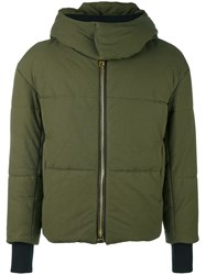 Palm Angels Padded Jacket Green