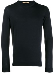 Nuur Slim Jumper Blue