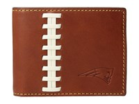 Dooney And Bourke Nfl Leather Wallets Credit Card Billfold Tan Tan Patriots Credit Card Wallet Brown