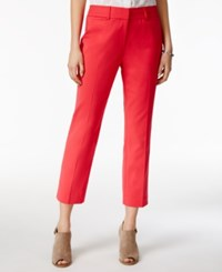 Tommy Hilfiger Cropped Straight Leg Pants Only At Macy's Azalea