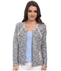 Nic Zoe Petite Heat Mist Jacket Multi Women's Coat