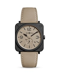 Bell And Ross Br Desert Type Watch 39Mm Taupe