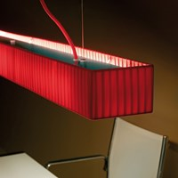 Bover Tekno Lp2 Pendant Black Cream Red
