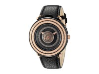 Versace V Metal Icon 46Mm Vql03 0015 Rose Gold Black