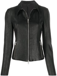Drome Fitted Leather Jacket 60