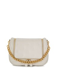 Anya Hindmarch Chubby Vere Soft Satchel Neutrals