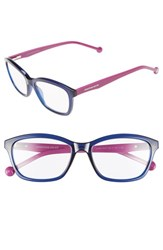 Women's Jonathan Adler '802' 54Mm Reading Glasses Navy