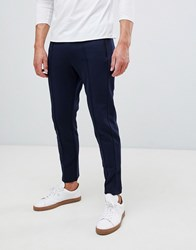 United Colors Of Benetton Smart Joggers In Navy