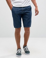 Element Denim Shorts Blue