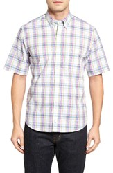 Tailorbyrd Men's Kamilah Plaid Sport Shirt