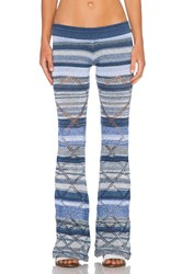 Goddis Alley Pant Blue