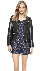 Paul And Joe Sister Leather Jacket Black