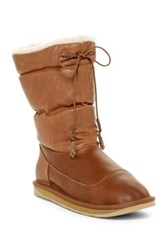 Australia Luxe Collective Earth Genuine Shearling Lined Boot Brown
