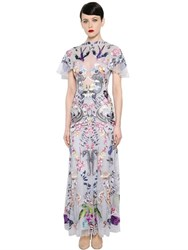 Temperley London Nautical Tattoos Hand Embroidered Gown