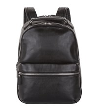 Shinola Runwell Leather Backpack Unisex Black