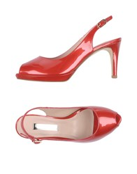 Marian Sandals Red