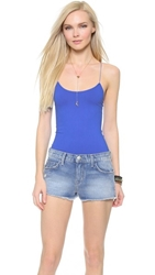Free People Seamless Cami Cobalt