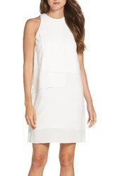 French Connection Women's Cornell Sheath Dress Summer White