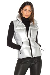 Sam. Freedom Vest Metallic Silver