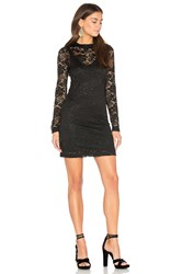 Bcbgeneration Mock Neck Mini Dress Black