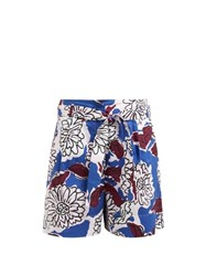 Weekend Max Mara Cafila Shorts Blue Multi