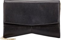 Narciso Rodriguez Rachel Clutch Colorless