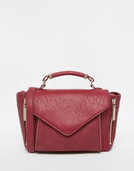 French Connection Satchel Bag Red