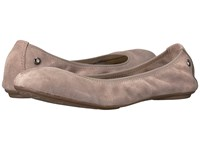 Hush Puppies Chaste Ballet Pinebark Suede Women's Flat Shoes Pink
