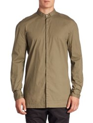Zanerobe Button Down Shirt Military Green