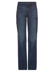 Helmut Lang High Rise Flared Jeans Denim
