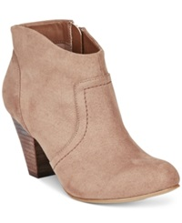 Xoxo Aldenson Booties Women's Shoes Taupe