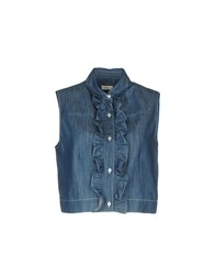 Gold Case Denim Shirts Blue