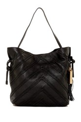 Vince Camuto Nella Leather Hobo Bag Black