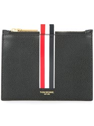 Thom Browne Logo Coin Purse Black