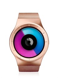 Ziiiro Celeste Rose Gold Watch