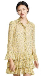 Zadig And Voltaire Rebbie Anemone Dress Bouton D'or
