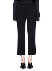 Ms Min Cropped Pencil Pants Black