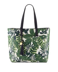 Cole Haan Natalie Small Jungle Tote Bag Green