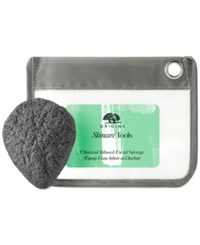 Origins Charcoal Infused Facial Sponge No Color