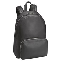 Montblanc Soft Grain Leather Backpack Black