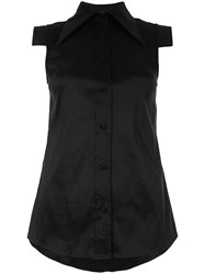 Harvey Faircloth Sleeveless Shirt Black